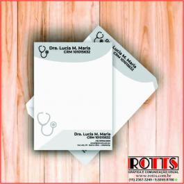 BLOCOS DE PEDIDOS Offset 75g/m² 10x15 cm 1X0 Sem Revestimento Blocagem 100x1 Via