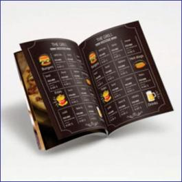 Cardápios 8 Páginas Com Dobra Reciclato 250g RECICLATO 250g Sangria: 300x210mm  Final do material: 297x207mm 4x4