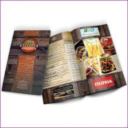 Cardápios 8 Páginas Com Dobra Reciclato 250g RECICLATO 250g Sangria: 470x320mm  Final do material: 467x317mm 4x4