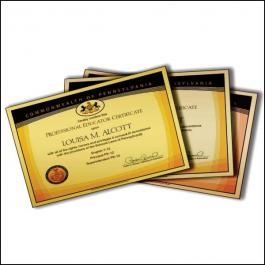 CERTIFICADOS GOLD MASTER 300g Sangria: 420x300mm  Final do material: 420x300mm 4x0  REFILE