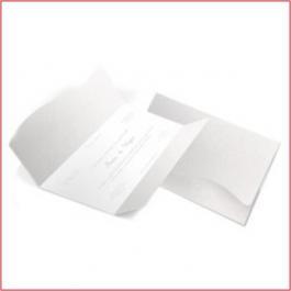 Clássico 09 Envelope Aspen Perolizado 180g  142x210mm   4x4 - Sem Verniz   Corte e Vinco Padrão  Lâmina Couchê 250g