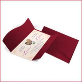 CLÁSSICOS 08 - PEQUIM  Envelope Color Plus Pequim 180g 142x210mm   4x0 - Sem Verniz   Corte e Vinco Padrão  Lâmina Couchê 250g