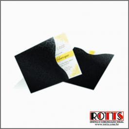 CLÁSSICO 01 Envelope Color Plus Estampado Los Angeles 180g 200x200mm 4x0 Lâmina Couchê Corte e Vinco Padrão Sem Verniz