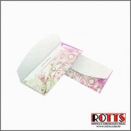 CLÁSSICO 04 Envelope Reciclato 240g 80x178mm 4x0 Sem Verniz Corte e Vinco Padrão