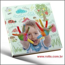 Fotolivros Ou Photobooks  12 Páginas 150g 15X21CM 4x4 Couche brilho Capa papel paraná Miolo papel Hot Melt