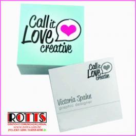 Mini Cartão 250g/m² - - - - - 4x1 cores Couchê 250g/m² 4,3x4,8 cm 4x1 Verniz Total Brilho Frente Corte reto