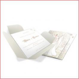 MODERNOS 04 Envelope Aspen Perolizado 180g 146x150mm 4x0 Lâmina Aspen Perolizado 180g Corte e Vinco Padrão sem verniz