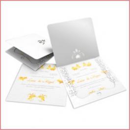 ROMÂNTICOS 07 Envelope Diamond Telado 180g 240x215mm  4x0  Lâmina Diamond Telado 180g Corte e Vinco Padrão sem verniz